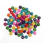 CBW06 Wood Beads 6mm Assorted: 200pk